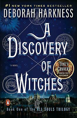 A Discovery of Witches by Deborah E. Harkness (English) Paperback Book Free Ship