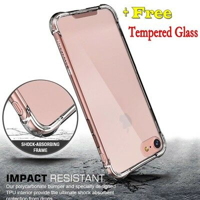 For Apple iPhone XS Max XR X 8 7 6 Case Cover silicon Shock proof Tough Hard TPU
