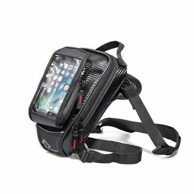 Motorcycle black magnet tank bag Backpack for phone wallet