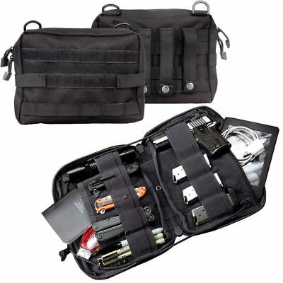 Tactical Molle Pouch Nylon Large Magazine Organizer Utility Phone Medic Belt Bag