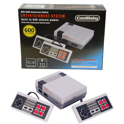 NES Mini Classic Retro Video Game Console with 2 Controllers Built-in 600 Games