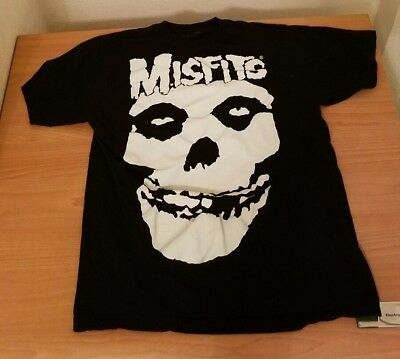 Misfits Band Camo Skull Officially Licensed Adult T-Shirt