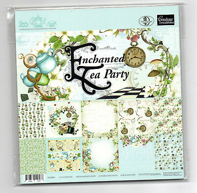"""Enchanted Tea Party Couture Creations 6""""x6"""" Paper Pad"""