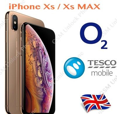 O2 TESCO Unlocking UNLOCK code Service for Iphone  Xs XR XsMAX Xs Max 10s MAx