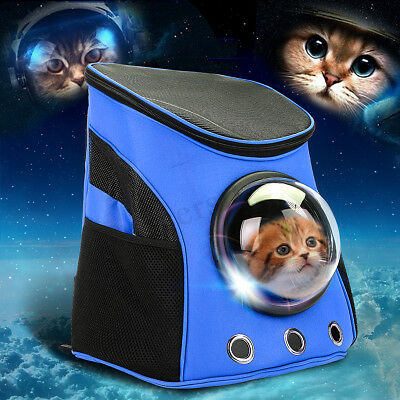 Traspirante Astronaut Capsule Pet Dog Cat Zaino Pet Carrier Travel Carrier Gift