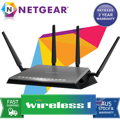 All NEW Netgear D7800 Nighthawk X4S AC2600 Gigabit Modem Router (FTTN Compatible