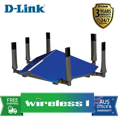 All NEW D-Link DSL-4320L TAIPAN - AC3200 Wi-Fi Modem Router (FTTN Compatible)