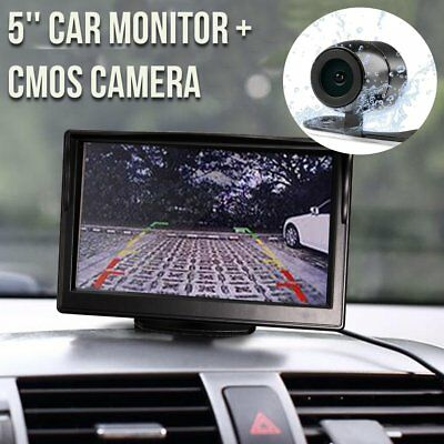 Rear View Car Kit 5 '' TFT LCD Monitor retromarcia inversione telecamera di parc