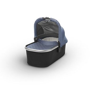 2018 UPPAbaby Bassinet - Henry Blue Marl/Silver