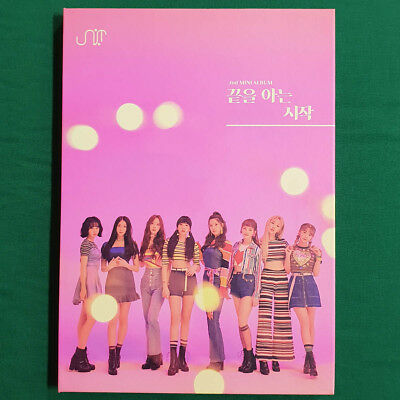 [Pre-Owned/ No Photocard] UNI.T 2nd Mini Album Begin with the End - CD/ Booklet