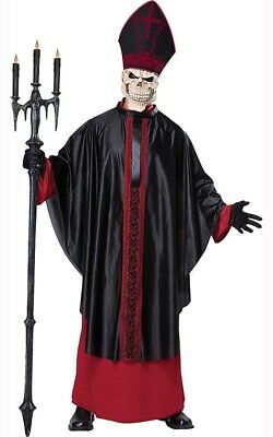 CL21 The Holy Pope Catholic Church Priest Father Bishop Adult Men Costume