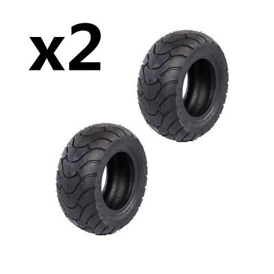 2x 13X5-6'' Cover Tyre Tire Tubeless Ride on Mower Kids Go Kart ATV Quad Scooter
