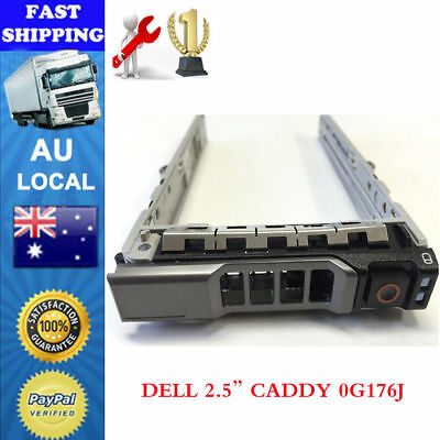 G176J 2.5 SAS SATA HDD Hard Drive Tray Caddy for DELL PowerEdge R610 R720 R810