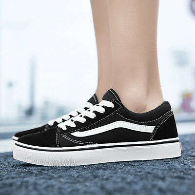 455b1a039d99b0 New VAN Classic OLD SKOOL Low Top Casual Canvas Sneakers Mens Womens Shoes  Flats