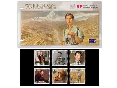 The 70th Birthday of Prince Charles Presentation Pack (WL41)