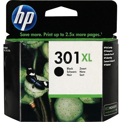 Cartuccia Originale Hp 301 Xl Nero - Black- Nuova
