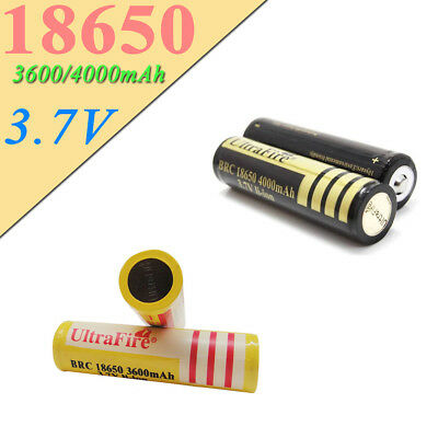 1/2/4x 4000/3600mAh BRC 18650 Rechargeable 3.7V Li-ion Battery lithium Protected