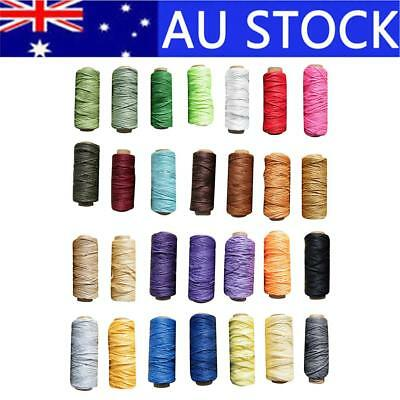 30M 210D 1.8MM Leather Sewing Waxed Wax Thread Hand DIY Stitching Cord Craft