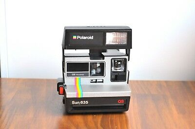POLAROID Sun 635 QS LAND Instant Film      -Tested    * Good Working Condition *