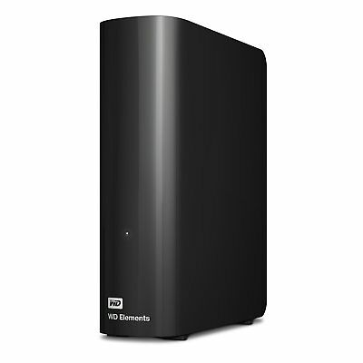 "Hard Disk Esterno Wd Western Digital Elements Desktop Usb 3.0 3,5"" Recertified"