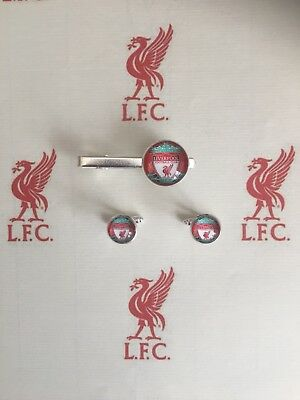 Liverpool F.C  Cufflinks and Tie Pin Gift sets