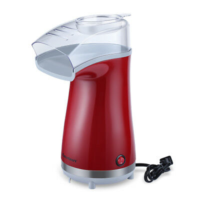 Excelvan Machine à pop-corn pour16 tasses de maïs rouge eu plug 1100 watts