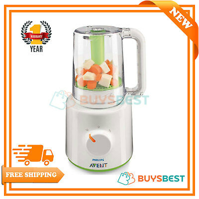 Philips Avent Combined Baby Food Steamer & Blender Fresh Processor - SCF870/21