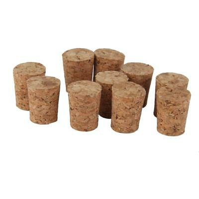 10 Pcs Tapered Wine Corks Stopper Wine Corks Crafts Tapered Cork Bottle Bung