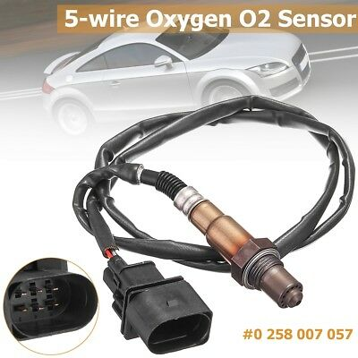 #0258007057  5-Wire Wideband Oxygen O2 Sensor For VW EuroVan Beetle Golf Audi TT