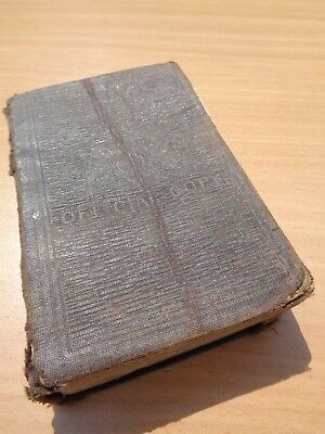 "WW1 British OFFICIAL COPY Soldier's ""BOOK OF COMMON PRAYER"""