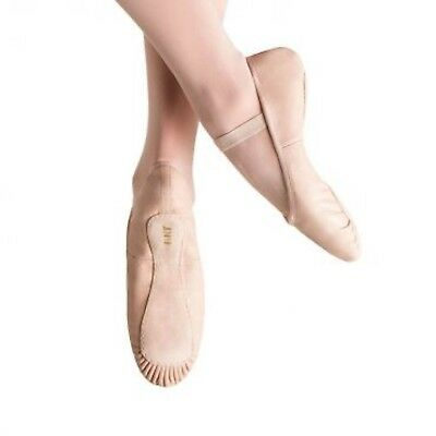 NEW BLOCH - PROLITE All LEATHER GIRLS Ballet Dance Shoes - Various sizes, Pink
