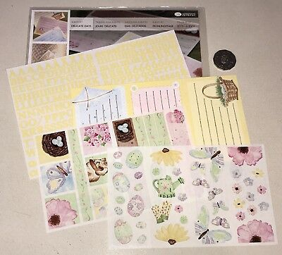 Creative Memories Delicate Days Kit: Letters Stickers Journaling Boxes Etc