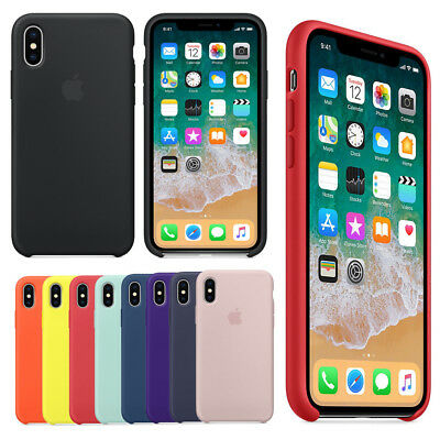 Original Genuine Silicone Phone Case Phone Cover For iPhone XS Max /XS /XR 2018
