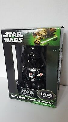 Darth Vader Star Wars 8 inch Lights Sound Gumball Dispenser Machine N-I-B * NEW