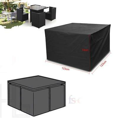 Waterproof Garden Patio Furniture Set Cover Rattan Cube Table Outdoor Covers
