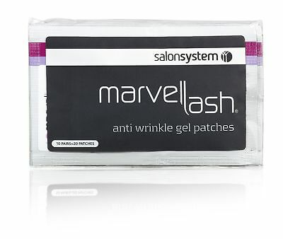 Salon System Marvelash Anti-Wrinkle Gel Patches (10 pairs) Under Eye Protection