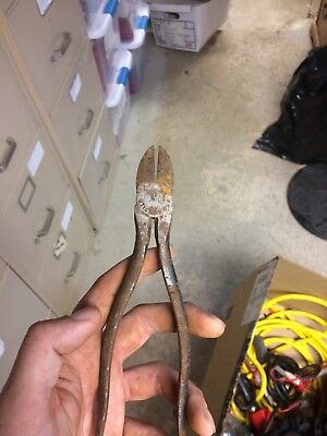 Vintage Utica #39 Wire Cutters Used