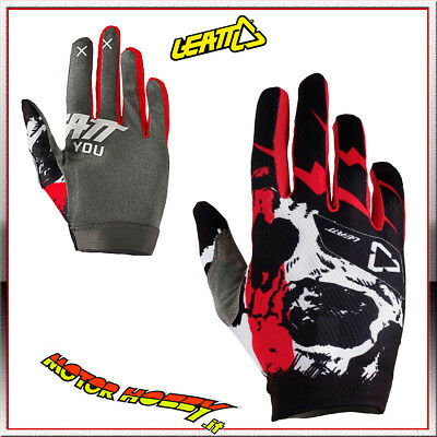 Guanto Glove Cross Enduro Quad Leatt Gpx 1.5 Gripr Scull Taglia Xl