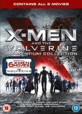 X-Men And The Wolverine Adamantio Collection (6 Films) DVD Nuovo (5757901000)
