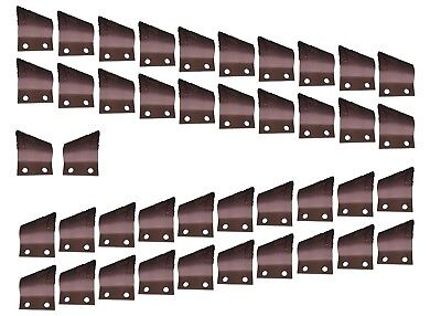 "Carbide Cupped Trenching Teeth- B135924, B135925, 2"" Centers on Bolt Holes"