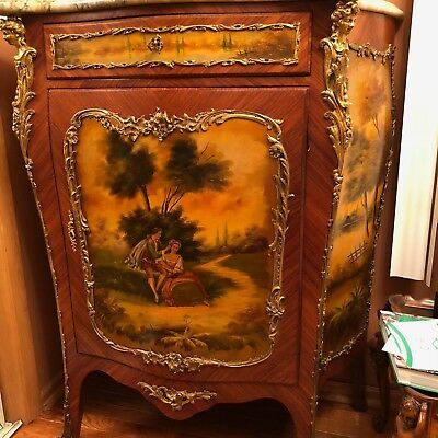 Antique Louis XIV or XV Style French Cabinet