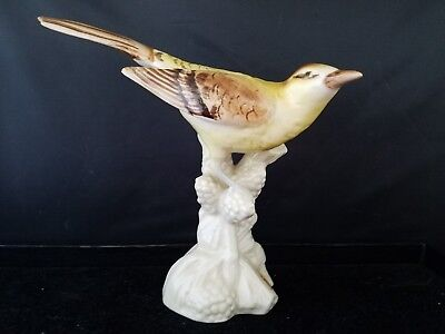 Royal Dux Bohemian Porcelain Bird Figurine # 359 7.5L 6.5H