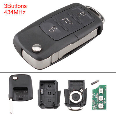 Remote Key Fob 1K0959753G fit for Volkswagen Vw Mk5 Golf Caddy Eos Tiguan Touran