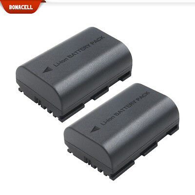 2 PACK 2600mAh LP-E6 Camera Batterys For Canon EOS 5D Mark II6D 60D 60Da 70D MP
