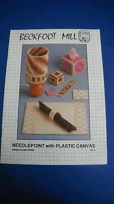 Beckfoot Mill Needlepoint With Plastic canvas Designs By Mavis Bee No. 2