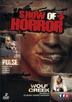 Box Show of Horror Pulse + Wolf Creek DVD NEW BLISTER PACK
