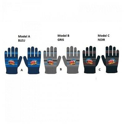 GREY gloves Cars Disney - one size new the unit