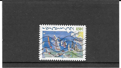 FRANCE 2004. EUROPA.  LES VACANCES. TIMBRE AUTOADHESIF OBLITERE Y&T: n° 42