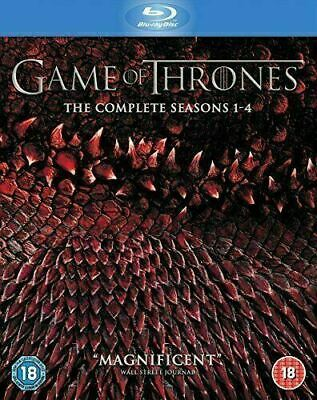Game of Thrones: The Complete Seasons 1-4 [Blu-ray] Good Condition.