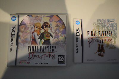 final fantasy rings of fates crystal chronicles nintendo ds 2ds